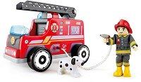 Пожарен камион - хартиен модел