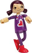 Дъщеря - Дървена мини кукла -