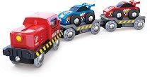 Автовоз на спортни коли - играчка