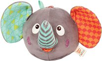 """Слонче - Детска музикална плюшена играчка от серията """"B Toys"""" -"""