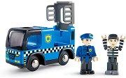 Полицейска кола с фигурки -