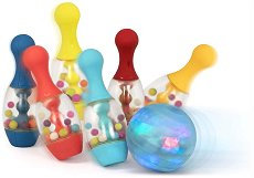 """Светещ боулинг - Комплект за игра от серията """"B Toys"""" -"""