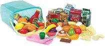 Кутия с хранителни продукти за игра - творчески комплект