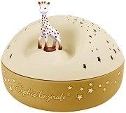 Проектор с музика - Жирафчето Софи - детски аксесоар