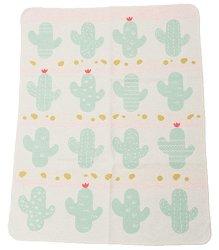 """Бебешко одеало - Кактуси - С размери 70 x 90 cm от серия """"Juwel"""" - продукт"""
