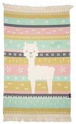 Детски килим - Лама - С размери 70 x 120 cm -