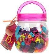 """Мъниста в бурканче - Pop Art - Комплект от 150 броя от серията """"B Toys"""""""