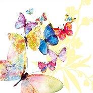 Салфетки за декупаж - Винтидж пеперуди - Пакет от 20 броя