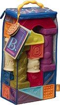 """Меки кубчета и форми - Комплект от 26 броя от серията """"B Toys"""" - играчка"""