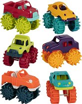 Камиони - Чудовища - Комплект от 6 броя -