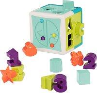Образователен куб - Детска играчка за сортиране -