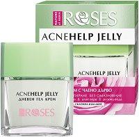 Nature of Agiva Acne Help Jelly - Дневен гел крем за комбинира и склонна към акне кожа -