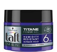 Taft Titane Power Gel - Гел за коса за дълготрайна фиксация - шампоан