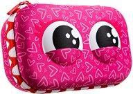 """Ученически несесер - кутия с разделители - Pink - От серията """"Zipit: Wildlings"""" -"""
