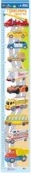 Ръстомер - Превозни средства - Детски метър за измерване на височина от 60 cm до 150 cm -