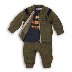 Бебешки комплект - Суитшърт, блуза и панталон - продукт
