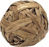 Декоративна топка от ратан - С диаметър ∅ 7.5 cm