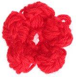 Плетено цвете за декорация