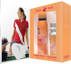 Подаръчен комплект - Beverly Hills Polo Club 1 Pour Femme - Дамски парфюм и дезодорант - продукт