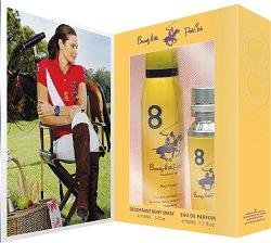 Подаръчен комплект - Beverly Hills Polo Club 8 Pour Femme - дезодорант