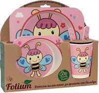 Детски комплект за хранене - Пчела - продукт