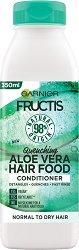 Garnier Fructis Quenching Aloe Vera Hair Food Conditioner - Хидратиращ балсам за нормална до суха коса с алое вера - червило
