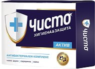 Антибактериален сапун - Чисто Актив - мокри кърпички