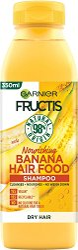 Garnier Fructis Nourishing Banana Hair Food Shampoo - Подхранващ шампоан за суха коса с екстракт от банан - мокри кърпички