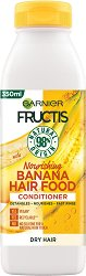 Garnier Fructis Nourishing Banana Hair Food Conditioner - Подхранващ балсам за суха коса с екстракт от банан - мокри кърпички
