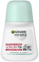 Garnier Mineral Magnesium Ultra Dry Anti-Perspirant Roll-On - Дамски ролон дезодорант против изпотяване с магнезий - маска