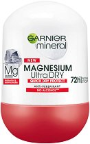 Garnier Mineral Magnesium Ultra Dry Anti-Perspirant Roll-On -