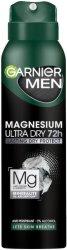 Garnier Men Magnesium Ultra Dry Anti-Perspirant - Мъжки дезодорант против изпотяване с магнезий - шампоан