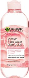 Garnier Micellar Cleansing Rose Water - Мицеларна розова вода за чувствителна кожа - душ гел