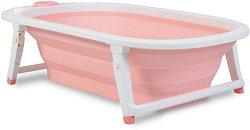 Сгъваема бебешка вана за къпане с изход за оттичане - Carribean - чаша