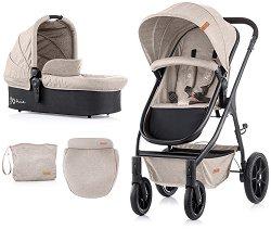 Бебешка количка 2 в 1 - Avia 2020 - С 4 колела -