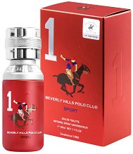 Beverly Hills Polo Club Sport 1 EDP - Мъжки парфюм -