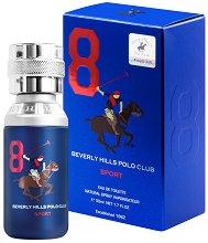 Beverly Hills Polo Club Sport 8 EDP - Мъжки парфюм -