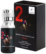 Beverly Hills Polo Club Sport 2 EDP - дезодорант
