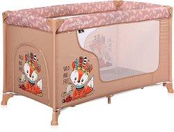 Сгъваемо бебешко легло - Moonlight: Beige Foxy -
