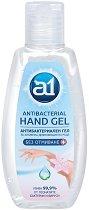 Антибактериален гел за ръце - A1 - Със 70% спирт, в разфасовки от 80 и 500 ml - червило