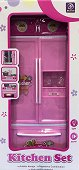 Хладилник и шкафче - Комплект за игра -