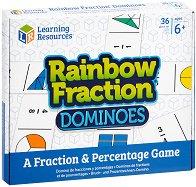Домино с дроби - Rainbow Fraction - играчка