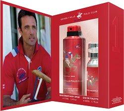 Подаръчен комплект за мъже - Beverly Hills Polo Club Sport 1 - дезодорант