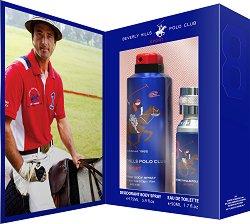 Подаръчен комплект - Beverly Hills Polo Club Sport 8 - дезодорант
