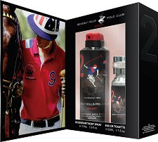 Подаръчен комплект - Beverly Hills Polo Club Sport 2 - дезодорант