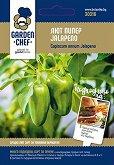"""Семена от Лют Пипер - Jalapeno - Опаковка от 1 g от серията """"Garden Chef"""""""