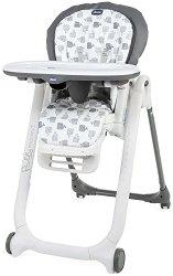 Детско столче за хранене 5 в 1 - Polly Progres5: Grey -