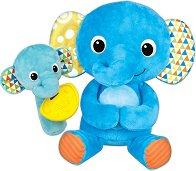 """Мама и бебе слонче - Комплект меки играчки за бебе от серията """"Little Pals"""" -"""