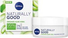 Nivea Naturally Good Organic Aloe Vera Radiance Day Care - крем
