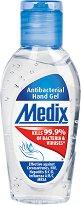 Антибактериален гел за ръце - Medix - тампони
